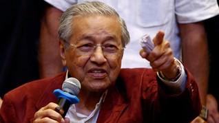 Jadi PM Malaysia, Jokowi Ucapkan Selamat pada Mahathir