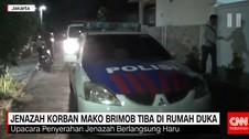 Jenazah Korban Mako Brimob Tiba di Rumah Duka