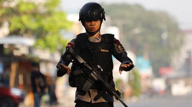 Kawasan Sekitar Mako Brimob Semarang Dijaga Ketat