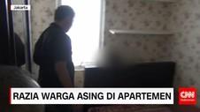 Razia Warga Asing di Apartemen