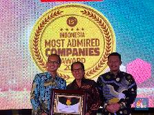 Trans Corp Raih Penghargaan Most Admired Companies 2018