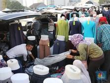 Sehari Dagang di Pasar Tasik, Belasan Juta Bisa Dikantongi