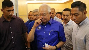 Kasus 1MDB, Najib Razak Merasa Diperlakukan Seperti Pencuri