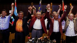 FOTO: Perayaan Kemenangan Mahathir Mohamad