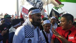 Teuku Wisnu dan Irwansyah Ramaikan Aksi Bela Palestina 115