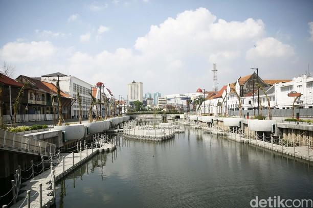 Kerennya Kali Besar Kota Tua yang Mirip Sungai di Seoul