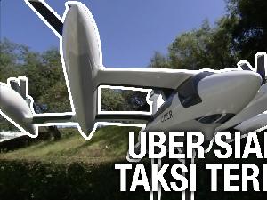 VIDEO: Taksi Terbang Uber Lepas Landas Tahun 2023