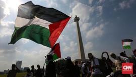 FOTO: Gema Suara Bela Palestina dari Monas