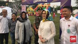Walikota Tangsel Airin Cetak Gol di Kampung Bola Transmedia