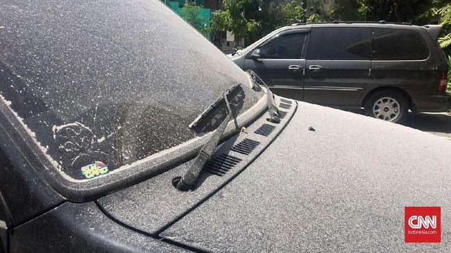 Bagian Mobil yang Harus Dibersihkan dari Abu Vulkanik