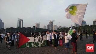 Aksi Bela Palestina 115, Jalan di Sekitar Monas Ditutup