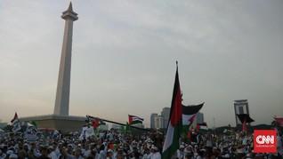 Aksi 115, Halte Transjakarta Istiqlal Tak Layani Penumpang