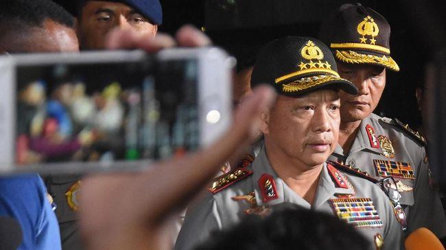 Kapolri Akan Tinjau Langsung TKP Bom Surabaya
