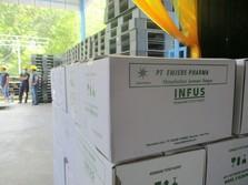 PGN Salurkan Gas ke Pabrik Infus Emjebe