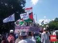 Sebagian Massa Aksi 115 Bergerak ke Kedubes AS