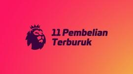INFOGRAFIS: 11 Pembelian Terburuk Liga Inggris 2018