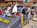 Polisi Amankan 16 Orang Diduga Perusak Polsek Bayah di Banten