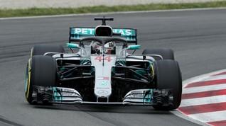 Hamilton Raih Pole F1 GP Prancis
