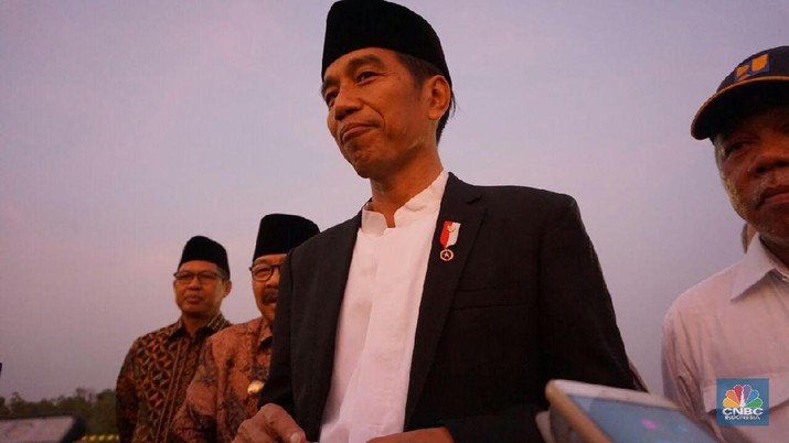 Periode II Jokowi masih diwarnai pembangunan infrastruktur yang masif.