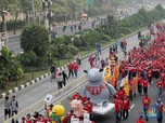 JK Sebut Kemacetan Jakarta Bisa Kacaukan Asian Games 2018