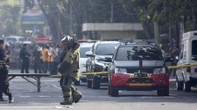 Polisi Jinakkan Sisa Bom di Rumah Terduga Pelaku Ledakan