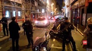 VIDEO: Pelaku Penusukan Perancis Tewas Ditembak Polisi