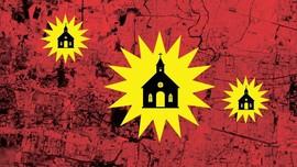 INFOGRAFIS: Peta Lokasi Tiga Bom Surabaya