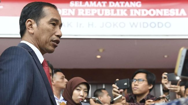 Doa Jokowi di Tengah Kerja saat Ulang Tahun ke-57