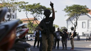 Kapolresta Denpasar: Teroris Tembak di Tempat