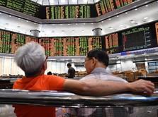 Tertekan Sentimen Perang Dagang, Bursa Hong Kong Dibuka Turun