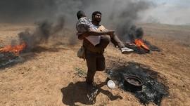 52 Warga Palestina Tewas Akibat Bentrokan di Gaza