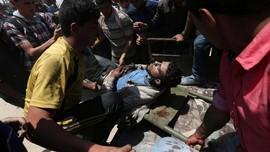 Israel Serang Basis Hamas di Jalur Gaza