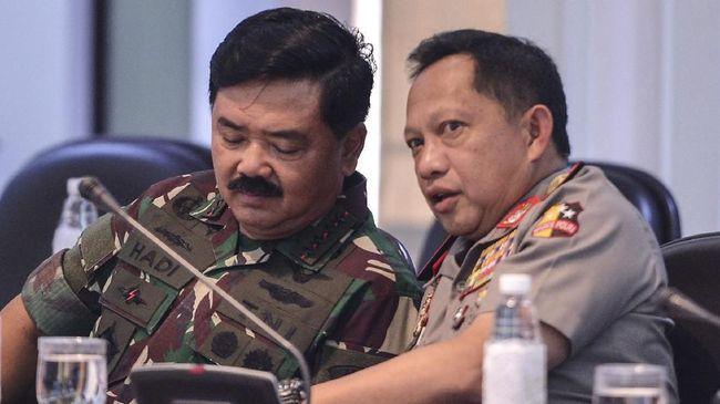 Kapolri dan Panglima TNI Bakal Berkantor di Papua