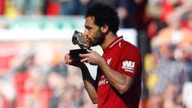 Jadi Top Skor Liga Inggris, Salah Pilih Tetap di Liverpool