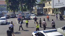 CCTV Rekam Aksi Serangan Bom di Polrestabes Surabaya