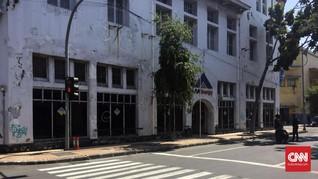 Imbas Bom, Sejumlah Gedung di Jalan Veteran Surabaya Tutup