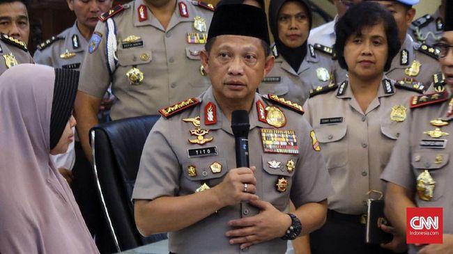 Kapolri Sebut Penyerang Mapolda Riau Terkait JAD, Bukan NII
