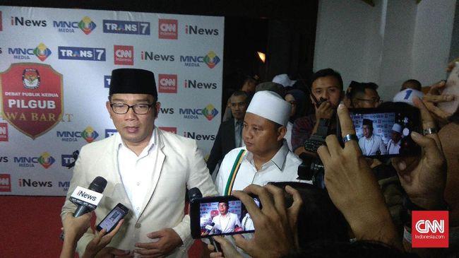 Pembukaan Debat Pilgub Jabar Singgung Hoax dan Bom Surabaya