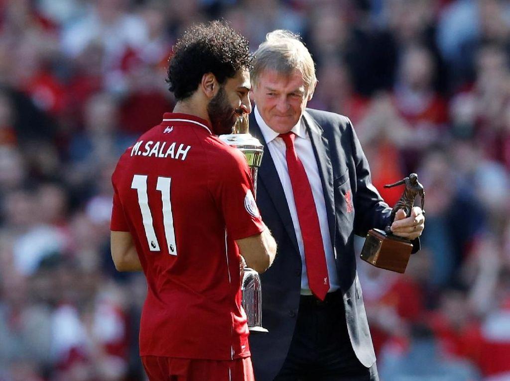 Mohamed Salah merupakan pembelian terbaru Liverpool dari AS Roma. Dia merupakan pembelian sukses dengan sumbangan lebih dari 40 gol di musim pertama. (Foto: Carl Recine/Reuters)