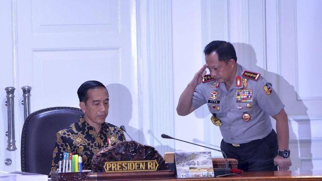 Jokowi Minta Kapolri, TNI dan BIN Jamin Keamanan Ramadan
