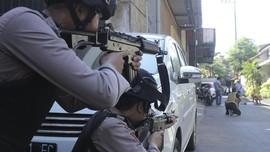 Polisi Tembak Mati 4 Terduga Teroris Usai Teror Bom Surabaya