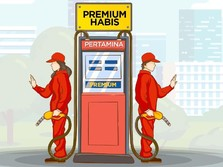 Ribuan Pom Bensin Tanpa Premium