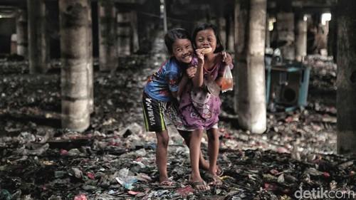 Tingkat Kemiskinan RI Turun