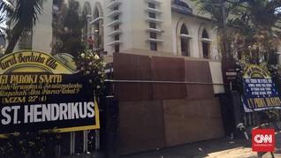 Sepekan Bom Surabaya, Polisi Perketat Penjagaan di Gereja