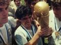 VIDEO: Maradona Bawa Argentina Raih Trofi Kedua Piala Dunia