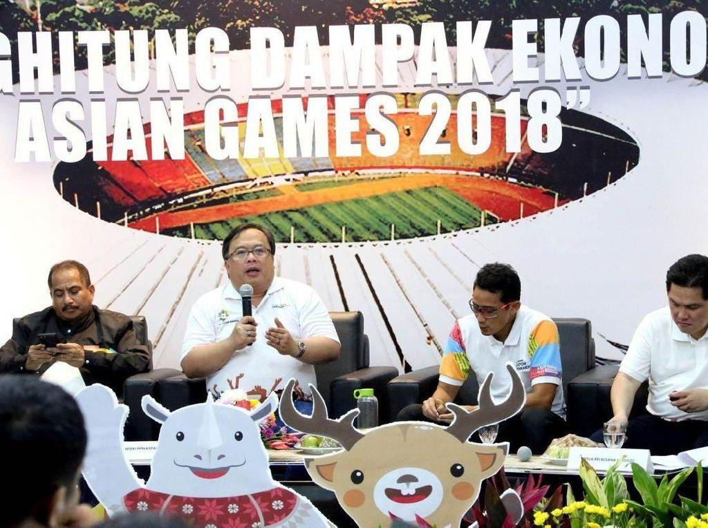 Bambang Brodjonegoro menegaskan bahwa ajang olahraga internasional ini akan memberikan manfaat ekonomi dan non ekonomi bagi Indonesia sebagai tuan rumah.