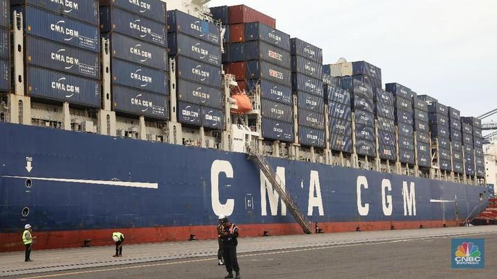 Kapal Ekspor Manufaktur Indonesia Siap Berangkat ke AS