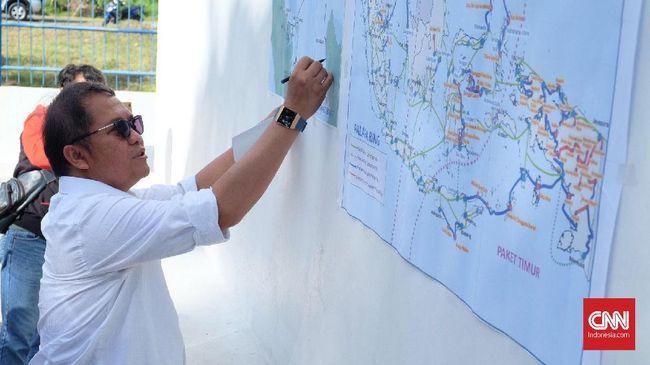 Mulai Uji Coba, Tarif Sewa Palapa Ring Barat Belum Ditetapkan