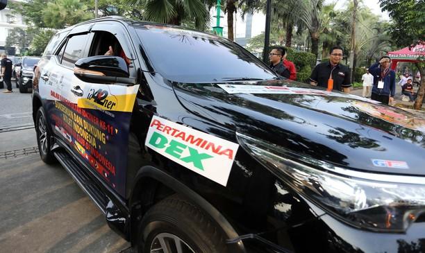 Komunitas Fortuner Ikut Promosikan Asian Games