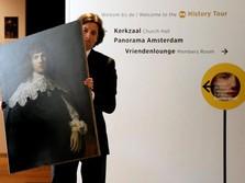 FOTO: Lukisan Rembrant Dijual dengan Harga Selangit